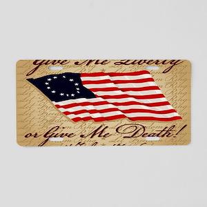 11x17_4_July_1776 Aluminum License Plate