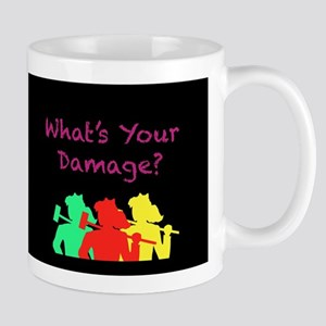 What's Your Damage Mugs