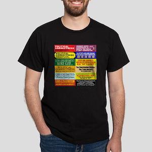 OOBumperStickers-v01 - All Dark T-Shirt