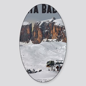 Sella Ronda - Alta Badia Sticker (Oval)