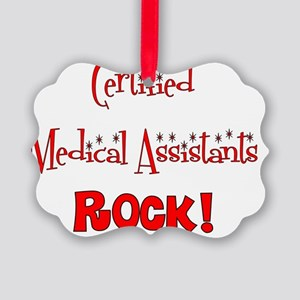 CNAs rock Picture Ornament