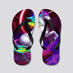 16x20_unicorndream Flip Flops