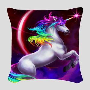 16x20_unicorndream Woven Throw Pillow