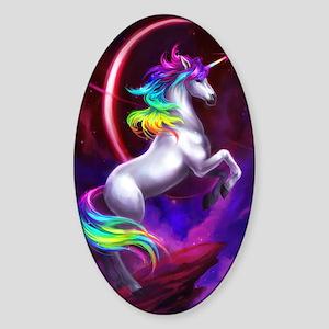 5x8_unicorndream Sticker (Oval)