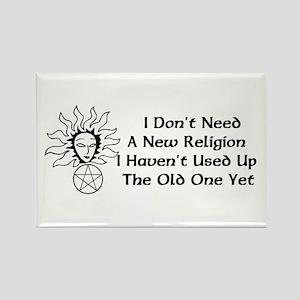 Old Religion Rectangle Magnet