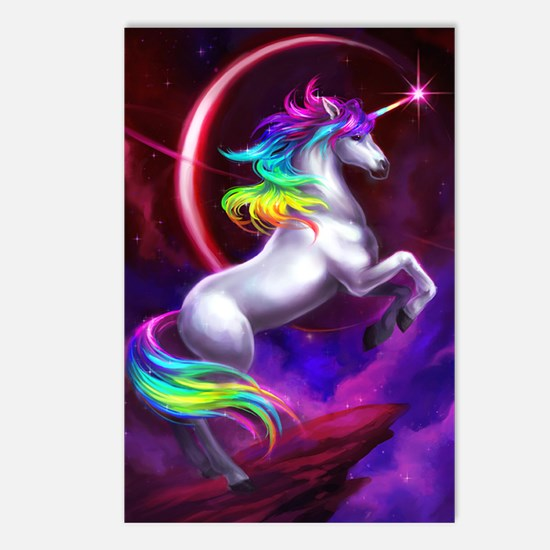 14x10_unicorndream Postcards (Package of 8)