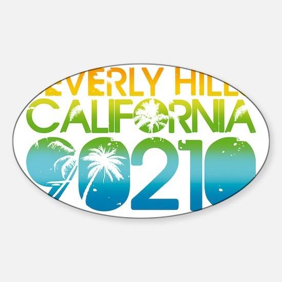 90210 Sticker (Oval)