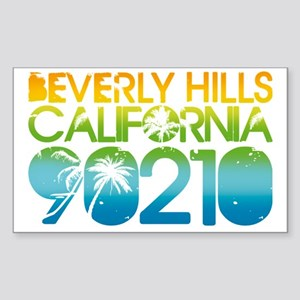 90210 Sticker (Rectangle)