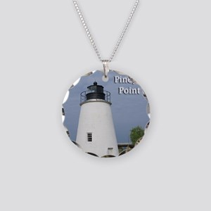 Piney Point Necklace Circle Charm
