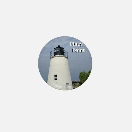 Piney Point Mini Button
