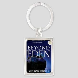 Beyond_Eden_Cover(CafePress) Portrait Keychain