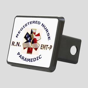 RNMedicLogo Rectangular Hitch Cover