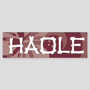 Haole42 Sticker (Bumper)