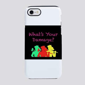 What's Your Damage iPhone 7 Tough Case