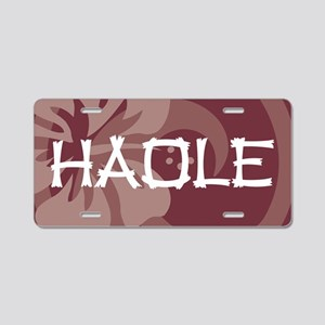 Haole38 Aluminum License Plate