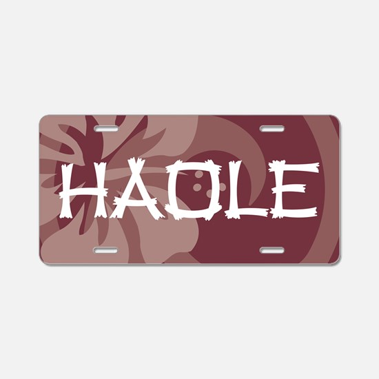 Haole38 Aluminum License Plate