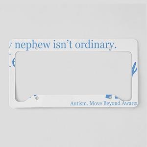 extraordinary-nephew-blue License Plate Holder