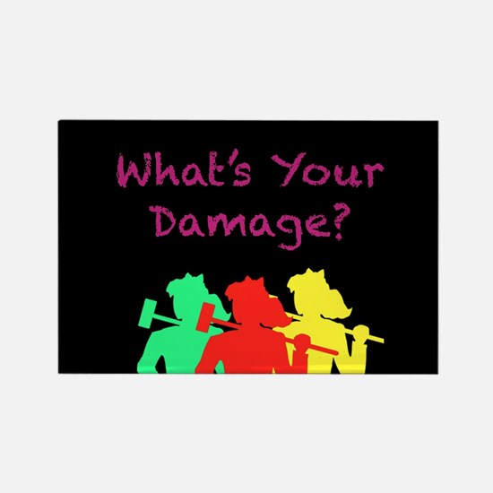 What's Your Damage Magnets