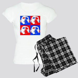 Obama Warol RED-BLUE Women's Light Pajamas