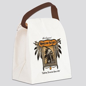 Homeland Security Canvas Lunch Bag