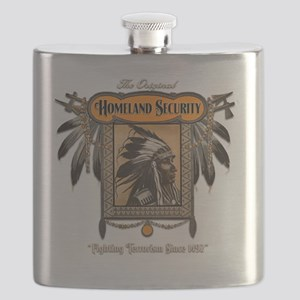 Homeland Security - dark background Flask