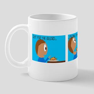 Feeding is creepier Mug