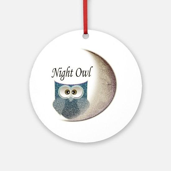 Night Owl Ornament (Round)