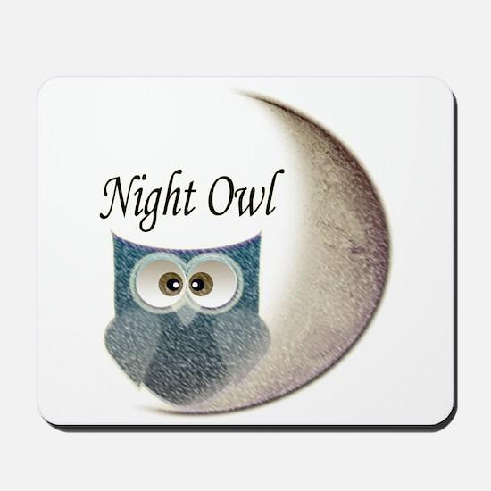 Night Owl Mousepad