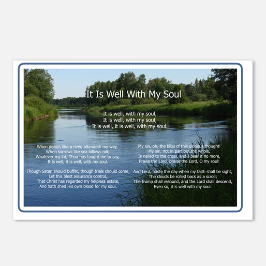 ItIsWellH Postcards (Package of 8)