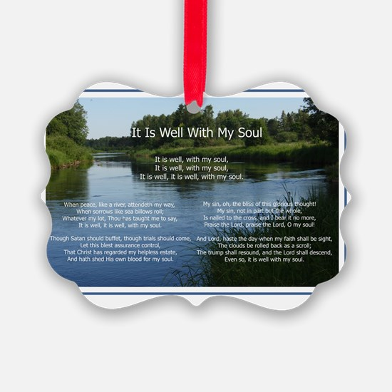 ItIsWellH Ornament