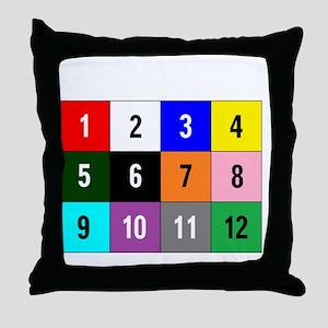 WannaBet white 10x10 200px Throw Pillow
