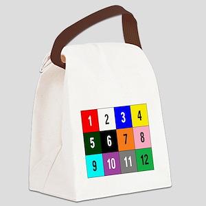 WannaBet white 10x10 200px Canvas Lunch Bag