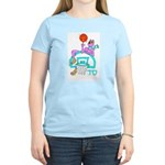 SABRA DOG(Basketball)Jewish Women's Pink T-Shirt
