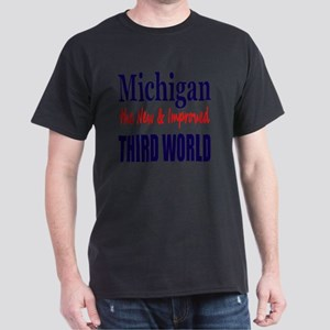Michigan 3rd World Lt Tshirt Dark T-Shirt