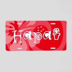 Hapai22 Aluminum License Plate