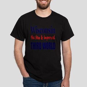 Wisconsin 3rd World Lt Tshirt Dark T-Shirt