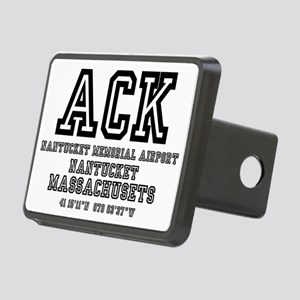 AIRPORT CODES - ACK - NANT Rectangular Hitch Cover