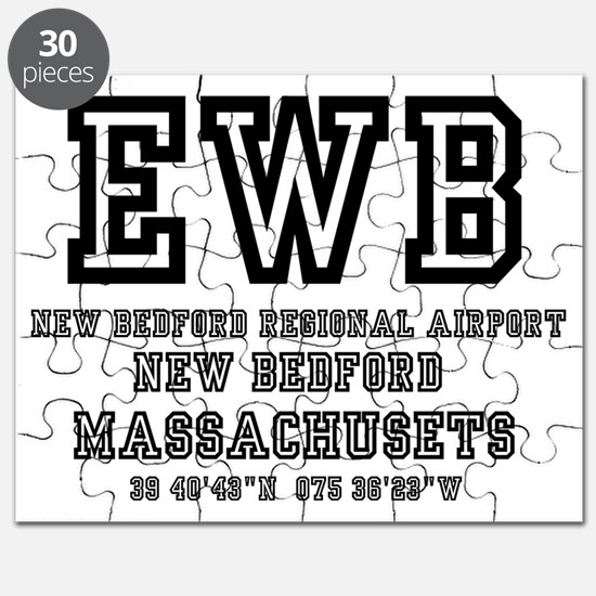 AIRPORT CODES - EWB - NEW BEDFORD, MASSACHU Puzzle