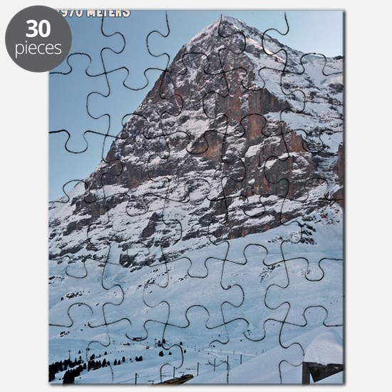 Switzerland - Eiger Nordwand and Train Puzzle