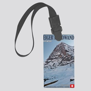 Switzerland - Eiger Nordwand and Large Luggage Tag