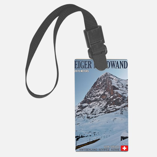 Switzerland - Eiger Nordwand and Luggage Tag
