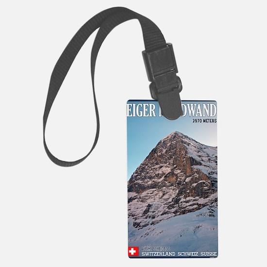 Switzerland - Eiger Nordwand Luggage Tag