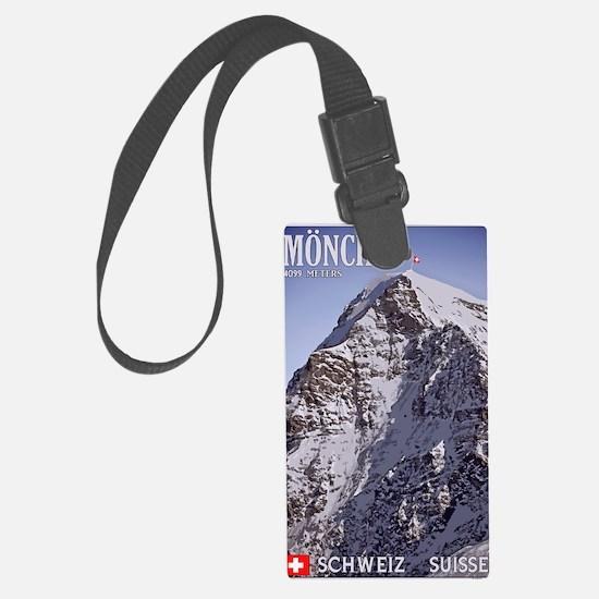 Switzerland - The Mönch Luggage Tag