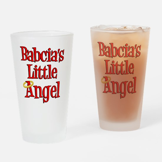 Babcias Little Angel Drinking Glass