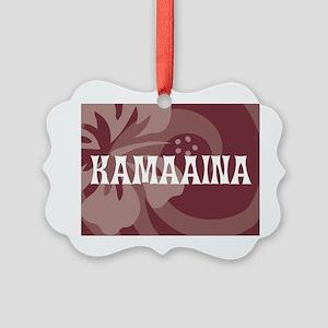 Kamaaina22 Picture Ornament