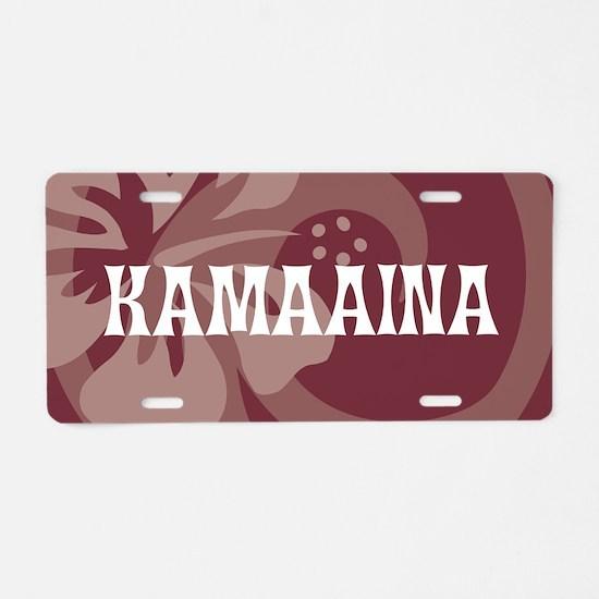 Kamaaina22 Aluminum License Plate