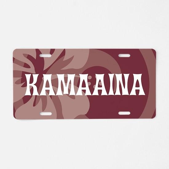 Kamaaina38 Aluminum License Plate