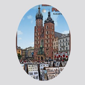 Krakow - Basillica Oval Ornament