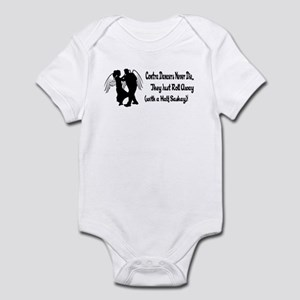 Contra Dancers Never Die Infant Bodysuit