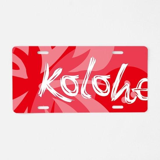 Kolohe21 Aluminum License Plate